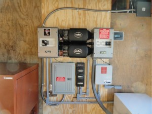 2 3600 Watt Outback Inverters With Charging System